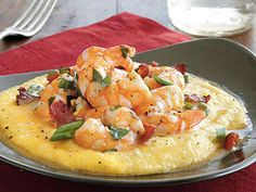 35 Meals Recipes You Can Make With Shrimp Cheesy Shrimp and Grits Recipe Best Spaghetti Recipe, Spaghetti Recipes, Shrimp Spaghetti, Best Shrimp Recipes, Seafood Recipes, Potato Appetizers, Appetizer Recipes, Rice Ramen Recipe, Vegan Shrimp