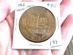 Vintage 1962 World's Fair Good for 1 Dollar in Trade Token Seattle Washington WA