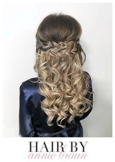 #hairbyanniebraun #weddinghair #bridalhair