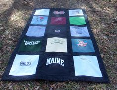 Custom Made Tee Shirt Quilt from 15 of your by sunshineofautumn, $150.00