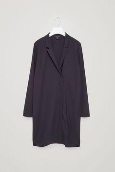 COS | Wrap-over lapel dress
