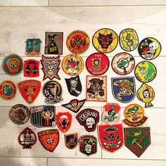 """My last batch of vintage Vietnam patches that I'll be putting up for a while! TwistedTwerps.com they came from a large collection I purchased recently.…"""
