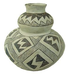 Buy online, view images and see past prices for Anasazi Pottery Jar. Invaluable is the world's largest marketplace for art, antiques, and collectibles. Indian Baskets, Lightning Bolt, Geometric Designs, Restoration, Auction, Jar, Pottery, Ceramics, Ceramica