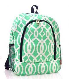 Vine Print Backpack