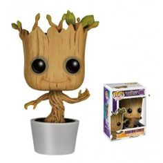 Figurine POP! Marvel Guardians Of The Galaxy Dancing Groot