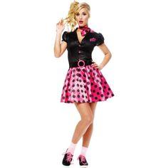 Adult Sock Hop 50's Costume