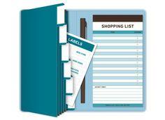 knock knock: coupons receiptables. $12.00 #springorganizing