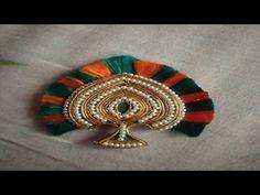 Thakurji no mukut Hand Embroidery Flowers, Hand Work Embroidery, Simple Embroidery, Latest Embroidery Designs, Machine Embroidery Designs, Mouth Mask Design, Laddu Gopal Dresses, Bal Gopal, Crown For Kids