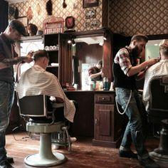 @The old shop (Roh's Barber shop Delft)