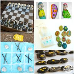 22 Games and Activities with Rocks