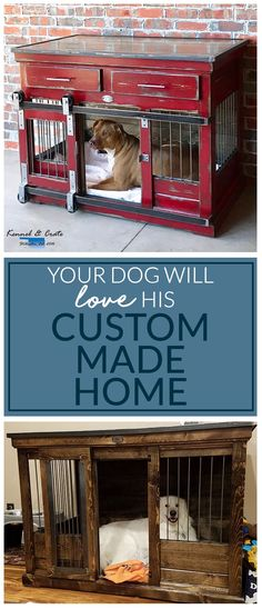 Custom design your single extra large kennel today!  We recommend this size for large breed dogs!  We can expand them a bit to accommodate the Great Danes and Sheep dogs of the world too! #Kennelandcrate #Customdesign #Dogkennel #Dog #Largebreeddogs #Customkennel