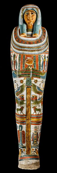 "The Mummy and Coffin of Meresamun. Meresamun (""Amun Loves…"