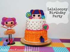 One Creative Housewife: Lalaloopsy Birthday Party....cute ideas@Jennifer Bacon