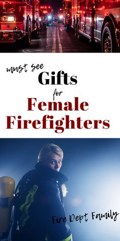 The Female Firefighter's Gift Guide Firefighter Training, Firefighter Family, Female Firefighter, Firefighter Gifts, Fire Dept, Gift Guide, Burns, Cakes, Fire Department