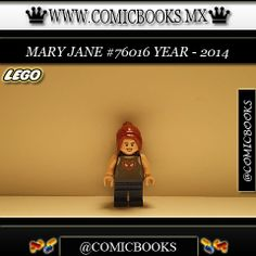 Mary Jane from LEGO set #76016 You can buy this LEGO toy at: www.comicbooks.mx Also follow us on Instagram: comicbooks, sundaycomics and sportscards