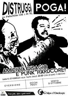 Punkharcore flyer