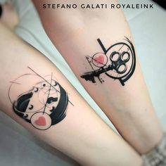 tattoo by Stefano Galati