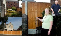 Couple got blocked into their own home after neighbour built fence across gate