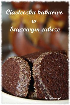 Ciasteczka kakaowe w brązowym cukrze