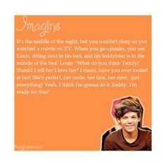 #Imagine Louis Tomlinson ❤ liked on Polyvore