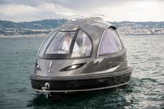 "Lazzarini's Jet Capsule ""mini yacht"" protoype garnered plenty of attention when it was unveiled in 2013, as did the smaller, faster Reptile version earlier this year. Now, a new 2016 public launch version has been announced. It retains its pod-like look and offers a variety of features and options."