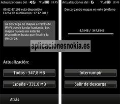 Los mapas de Nokia Mapas se actualizan para Symbian y MeeGo http://shar.es/hYRAW