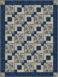 STEPPING STONES DOWNLOADABLE 3 YD QUILT PATTERN - I want this one!