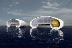 Drijvend Paviljoen - Prijsvraag CASA CASLA /Siebold Nijenhuis Architect