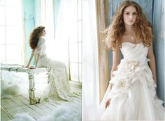 Such feminine dresses this season. From One Lovely Day by project wedding