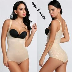96a10a615e7a1 Body Shaper Women Body Shaper 3 4 Cup Padded Undwire Bra Tummy Slim  Underbust Corset Bodysuit