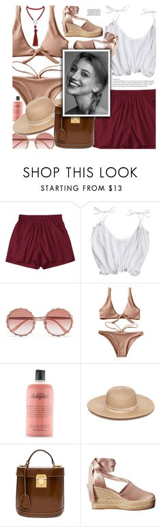 """""""Crazy in Love"""" by makeupgoddess ❤ liked on Polyvore featuring Dolce&Gabbana, philosophy, Collection XIIX, Mark Cross, Tory Burch, Marina J. and KAROLINA"""