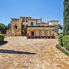 Mediterranean style villa-  East Texas: www.avcoroofing.com Contact us if you want an A+ roofing company! We're here to help!