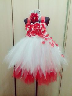 Tutu that Ive made for Vianne's school party.
