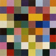 "Gerhard Richter, ""64 colores"", 1974"