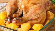 طريقة عمل صينية دجاج بالبطاطس بالفرن - Chicken and potato in the oven recipe