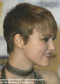 Super Short hair styles for curly hair -