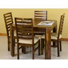 Alexa 4 Seater Dining Package