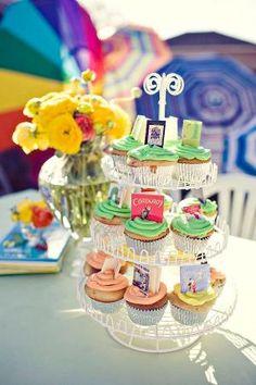 Book cupcakes! by macedelmar