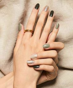 50 fall nail art ideas and autumn color combos to try on this season page 22 Short Nail Designs, Fall Nail Designs, Cute Nail Designs, Holiday Nail Art, Fall Nail Art, Autumn Nails, Korean Nail Art, Korean Nails, Cute Nails