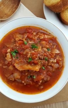 cabbage roll soup re
