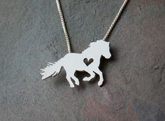 Hey, I found this really awesome Etsy listing at https://www.etsy.com/listing/231572200/icelandic-horse-necklace-sterling-silver