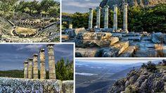 Priene Aydın Söke'de Selçuk-Efese yaklaşık 100 km uzaklıkta kurulmuş bir İyon (Antik Yunan) şehridir.