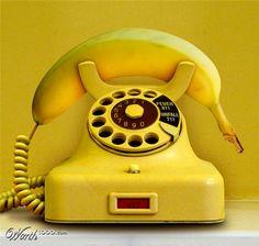 call us on the banana phone - muz Golden Yellow, Black N Yellow, Color Yellow, Yellow Art, Fred Instagram, Banana Phone, Banana Art, Yellow Fever, Yellow Brick Road