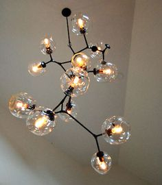 molecule light bulbs fixture