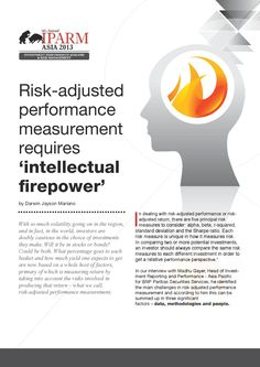 Risk-adjusted performance measurement requires 'intellectual firepower' [Article]