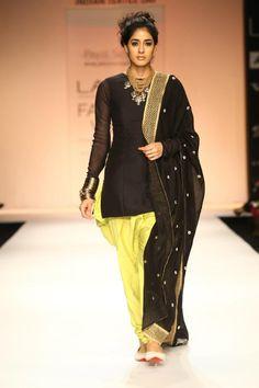 Payal Singhal, Lakme Fashion Week 2013