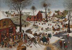 Le Dénombrement de Bethléem, vers 1605-1610, musée des Bons-Enfants, Maastricht