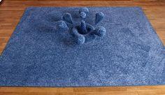"alfombra ""goteada"""