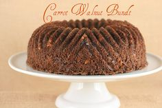 Carrot Walnut Bundt - I Like Big Bundts by Food Librarian, via Flickr