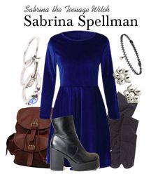 Sabrina the Teenage Witch by sparkle1277 on Polyvore featuring polyvore, fashion, style, AmeriLeather, With Love From CA, Tiffany & Co., BERRICLE and clothing